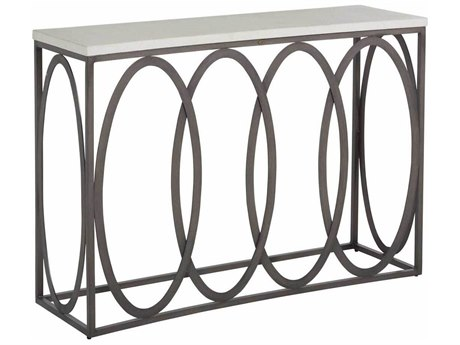 Summer Classics Ella Aluminum 50''W x 15.625''D Rectangular Console Table
