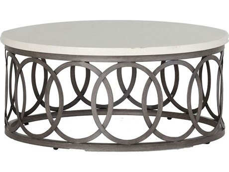 Summer Classics Outdoor Coffee Tables LuxeDecor - Black aluminum outdoor coffee table