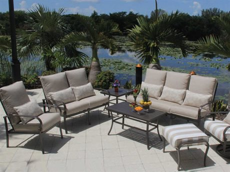 Suncoast Madison Aluminum Lounge Set