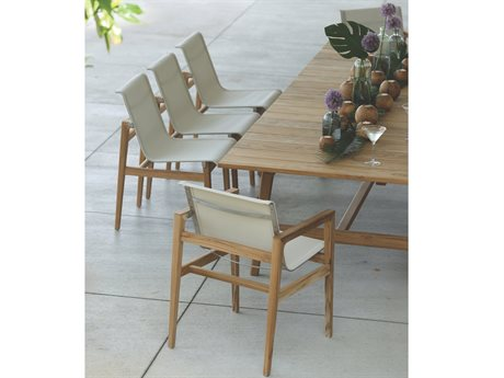 Summer Classics Coast Teak Dining Set