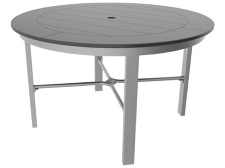 Suncoast Marine Grade Polymer 48''Wide Round Dining Table Top