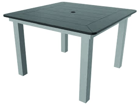 Suncoast Marine Grade Polymer Aluminum 42''Wide Square Dining Table Top
