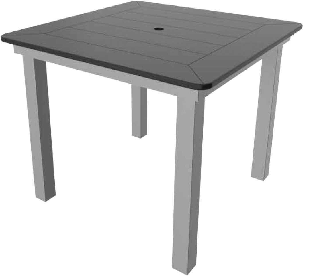 Suncoast Marine Grade Polymer Aluminum 42 Square Counter