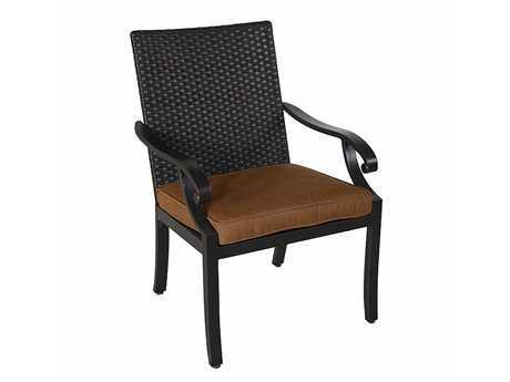 Sunvilla Somerset Cast Aluminum Wicker Dining Chair