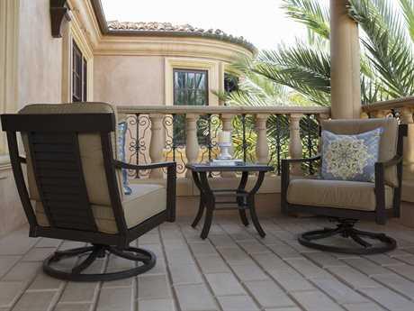 Sunvilla Allegro Aluminum Lounge Set in Spectrum Sesame
