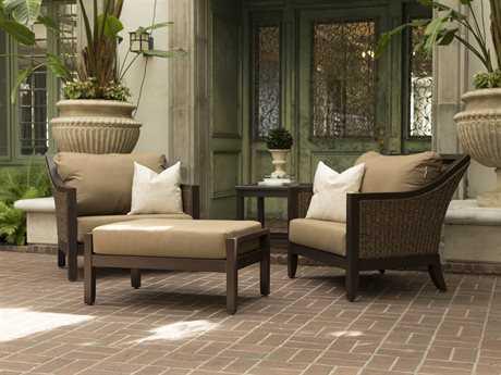 Sunvilla Biscay Aluminum Wicker Lounge Set SUNBISCAYLNGESET6