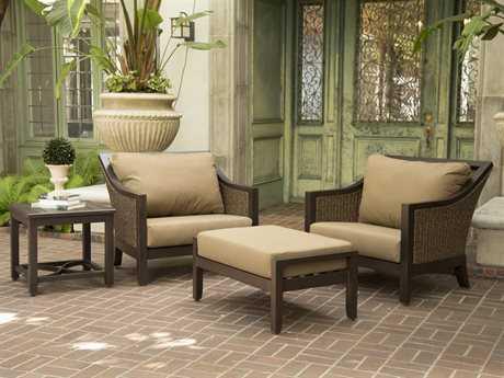 Sunvilla Biscay Aluminum Wicker Lounge Set