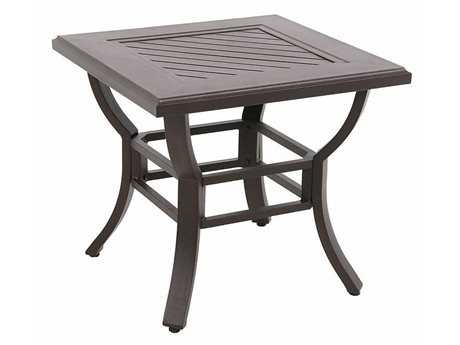 Sunvilla Allegro Cast Aluminum 24 Square End Table in Sunset