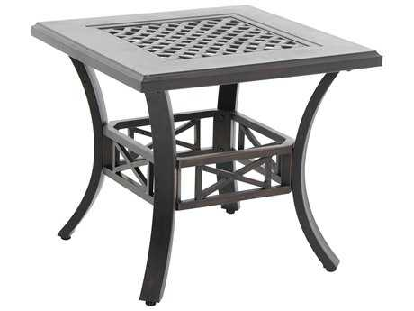 Sunvilla Aluminum 24 Square End Table in Sunset