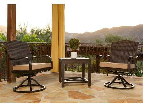 Sunvilla Indies Aluminum Wicker Lounge Set