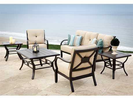 Sunvilla Laurel Aluminum Lounge Set