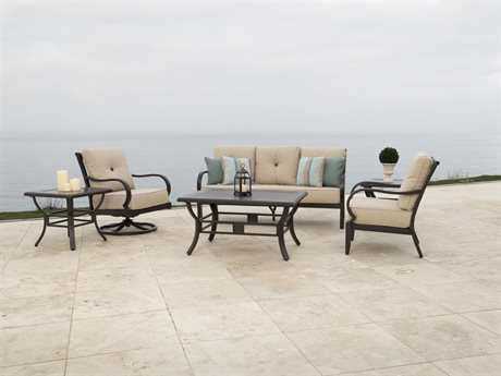 Sunvilla Laurel Aluminum Lounge Set SUNLAURELLNGESET2