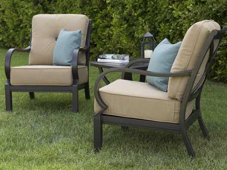 Sunvilla Laurel Aluminum Lounge Set SUNLAURELLNGESET3