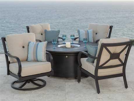 Sunvilla Laurel Aluminum Lounge Set SUNLAURELLNGESET6