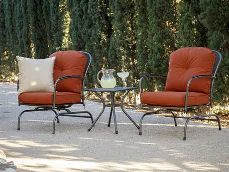 Sunvilla Monaco Aluminum Lounge Set SUNMONACLNGSET2