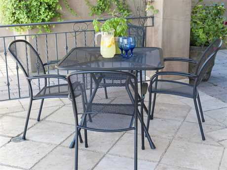 Sunvilla Monaco Steel Dining Set