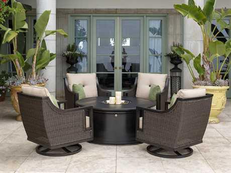 Sunvilla Pennant Aluminum Lounge Set SUNPENNANTLNGESET5