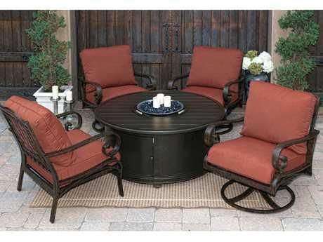 Sunvilla Riva Aluminum Lounge Set