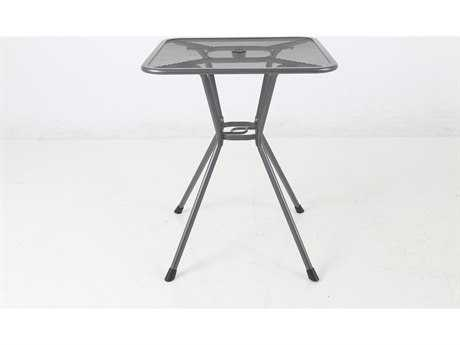 Sunvilla Steel 30 Square Balcony Table in Graphite