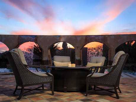 Sunvilla Somerset Cast Aluminum Lounge Set SUNSOMMERLNGSET