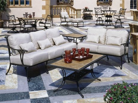 Suncoast Olympia Cast Aluminum Lounge Set