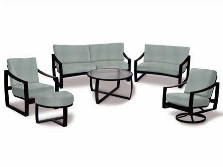 Suncoast Pinnacle Cushion Aluminum Lounge Set