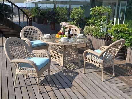 Suncoast Sedona Wicker Dining Set
