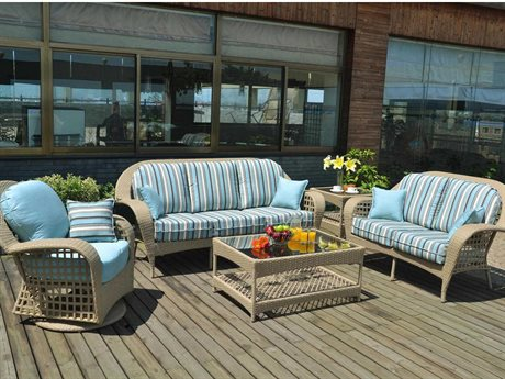 Suncoast Sedona Wicker Lounge Set