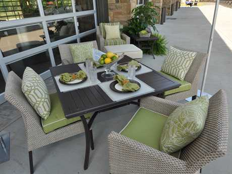 Suncoast Summer Aluminum Dining Set