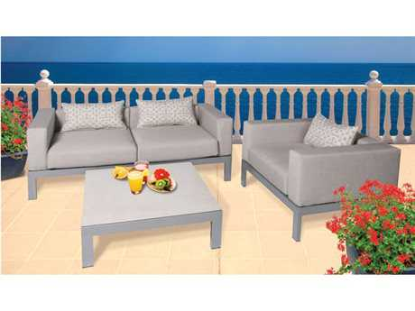 Suncoast Vectra Breeze Aluminum Lounge Set