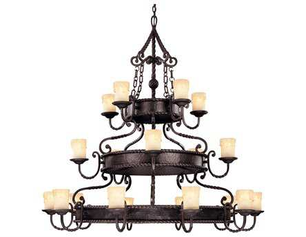 Savoy House Olde World San Gallo Slate 20-Light Grand Chandelier