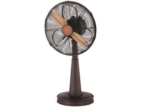 Savoy House Casual Lifestyles English Bronze 12W Table Top Sleep Fan