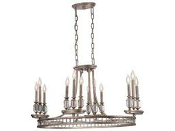 Savoy House Today's Classic Style Filament Silver Dust 12-Light 22'' Wide Chandelier