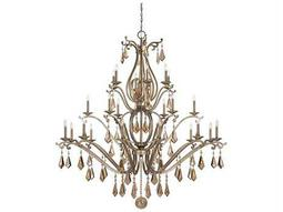 Savoy House Today's Classic Style Rothchild Oxidized Silver 24-Light 72'' Wide Grand Chandelier