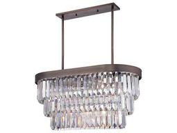 Savoy House Today's Classic Style Tierney Burnished Bronze Four-Light Island Light