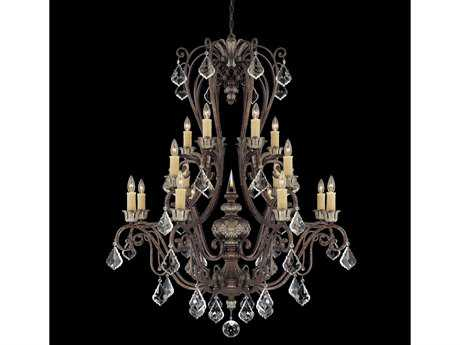 Savoy House Olde World Elizabeth New Tortoise Shell 16-Light 42'' Wide Grand Chandelier