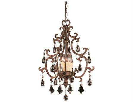 Savoy House Olde World Florence New Tortoise Shell Four-Light Open Foyer Pendant