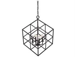 Savoy House Today's Classic Style Halston English Bronze Four-Light Pendant