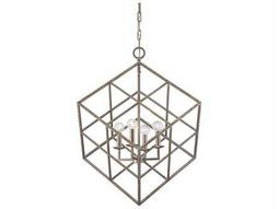 Savoy House Today's Classic Style Halston Argentum Four-Light Pendant