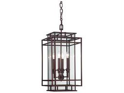 Savoy House Today's Classic Style Harmony Mohican Bronze Four-Light Foyer Pendant