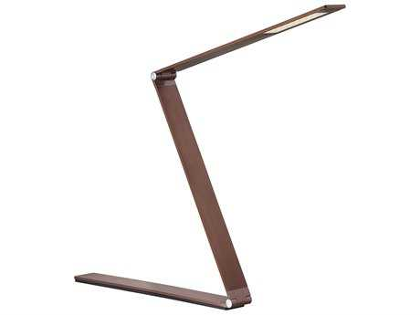Savoy House Fusion Z Rose Gold Bronze 17.75'' Wide LED Table Lamp
