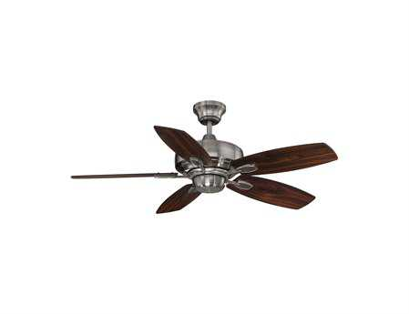 Savoy House Main Street Wind Star Brushed Pewter 42W Ceiling Fan