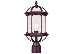 Savoy House Outdoor Living Kensington Rustic Bronze Outdoor Post Light