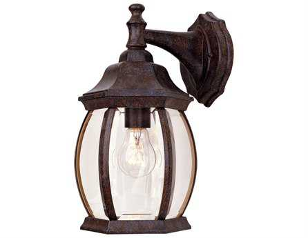 Savoy House Outdoor Living Exterior Rustic Bronze Outdoor Wall Light