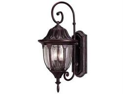 Savoy House Outdoor Living Tudor Bark & Gold Two-Light Outdoor Wall Light