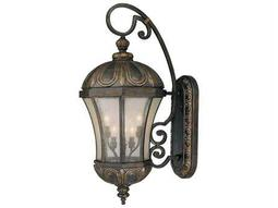 Savoy House Outdoor Living Ponce De Leon Old Tuscan Six-Light Outdoor Wall Light