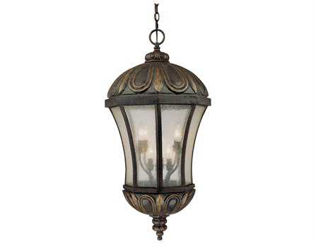 Savoy House Outdoor Living Ponce De Leon Old Tuscan Eight-Light Outdoor Hanging Pendant