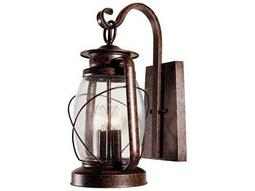 Savoy House Outdoor Living Smith Mountain New Tortoise Shell Four-Light Outdoor Wall Light