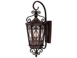 Savoy House Outdoor Living Felicity New Tortoise Shell Three-Light Outdoor Wall Light