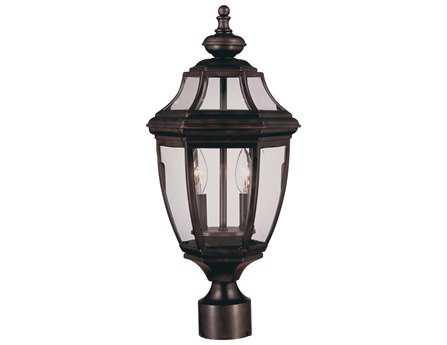 Savoy House Outdoor Living Endorado English Bronze Two-Light Outdoor Post Light